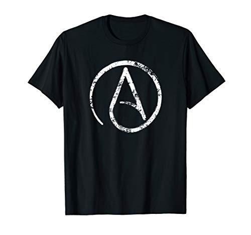 Atheism, Atheist Symbol, Secular, Humanist, Anti Religion T-Shirt