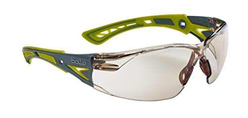 Bolle RUSH con lentes grises con protección contra UVA/UVB, impacto, niebla y luz azul - RUSHPSCSPL