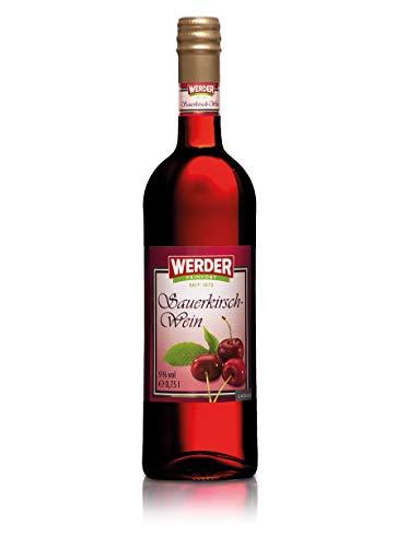 WERDER Sauerkirsch Wein 0,75L - Alk. 9% vol