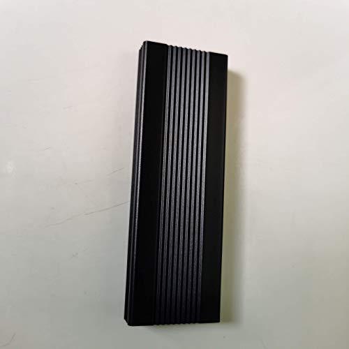 Hard disk esterno da 2 TB, hard disk esterno portatile Type-C/USB2.0 HDD per Mac Laptop PC (2 TB, nero)