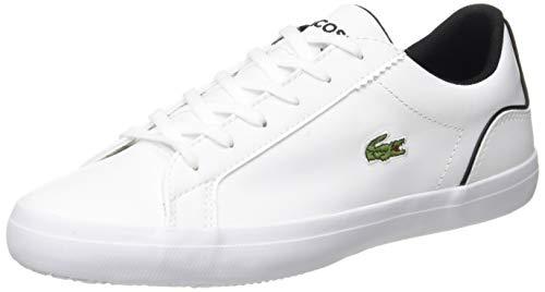 Lacoste Damen Lerond 0120 1 CFA Sneaker, Weißes Wht Blk, 42 EU