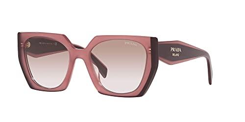 Prada Gafas de Sol MONOCHROME PR 15WS Red/Light Brown Shaded 54/19/140 mujer