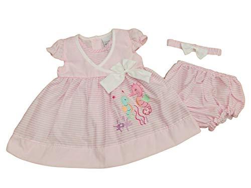 Nursery Time - Robe - Trapèze - Bébé (Fille) 0 à 24 Mois - Blanc - 4-6 Ans