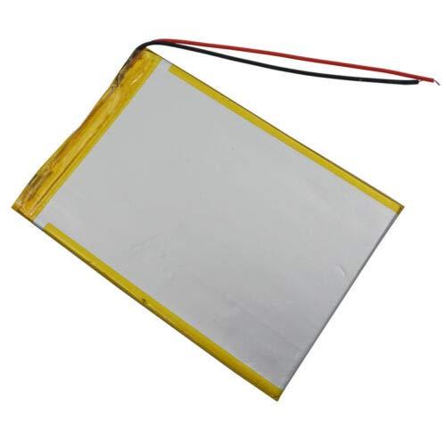 YUNIQUE ESPANA 1 pieza 3,7 V 4000 mAh batería Lipo plana para PDA GPS DVD Tablet PC