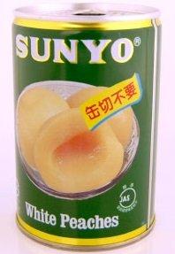 サンヨー堂 (国産)白桃 2つ割り 缶切不要 缶詰 425g