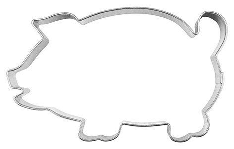 Ausstechform Schwein, gross, 8cm
