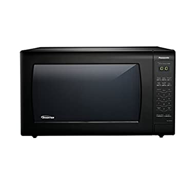 Panasonic NN-SN936B Countertop Microwave with Inverter Technology, 2.2 cu. ft, 1250W, Black
