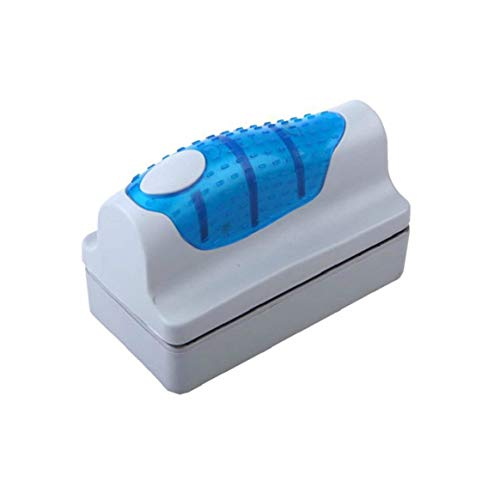 KKAAMYND Mini rascador de algas para limpiar ventanas, curvado flotante, cepillo magnético...