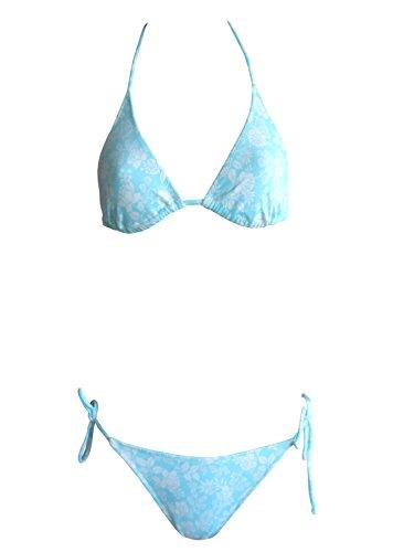 La Perla Oceano by Neckholder-Bikini 003_38 in türkis/Weiss, Gr. 38 B-Cup