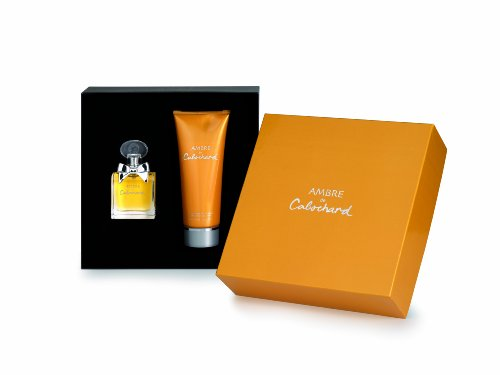 Perfumes grs Ambre de CABOCHARD Femme/Woman, Luxury–Juego de 2piezas (Eau de Toilette 50ml y bodylotion 200ml)