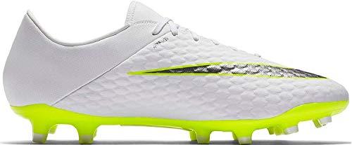 Nike Herren Hypervenom Phantom III Academy FG Fußballschuhe, Weiß Weiß Weiß, 40.5 EU