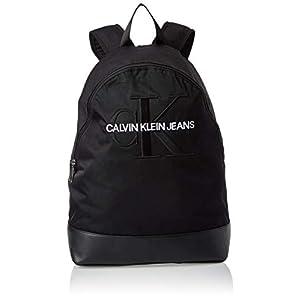 31AxqoslE1L. SS300  - Calvin Klein Monogram Nylon Cp Bp W/O Pocket - Mochilas Hombre