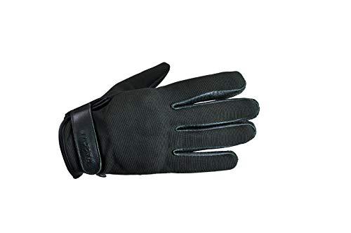 Magoma Dumbo handschoenen van leer en motorfietsweefsel met beschermers voor heren