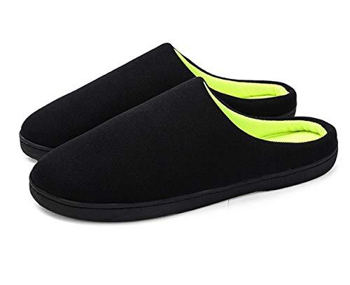 Inverno Pantofole da Casa Uomo in Memory Foam in Caldo Cotone Invernale Antiscivolo Unisex Adulto Scarpe Pantofole Uomo Invernali