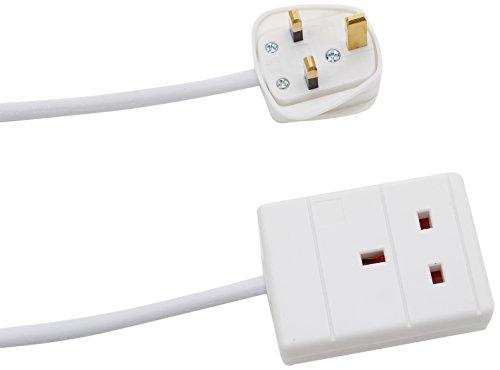 Pro-Elec pl13970 verlengkabel, 1 m, wit