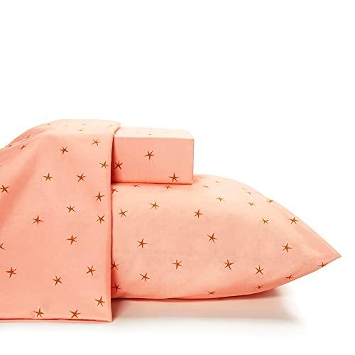 Where The Polka Dots Roam Bettwäsche für Doppelbett, 3-teiliges Set, mit Sternen bedruckt, Unisex, flexible Mikrofaser, langlebig, knitterfrei, für Jungen, Mädchen, Baby, Kinder, Kleinkinder, Teenager