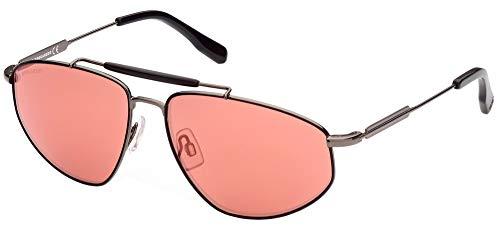 DSQUARED2 Gafas de sol DQ0354 08U Gafas de sol Hombre color Gris burdeos tamaño de lente 60 mm