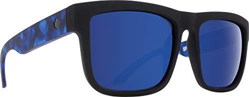 SPY Optic Discord Flat Sunglasses- Blue Camo - HD Bronze with Dark Blue Spectra