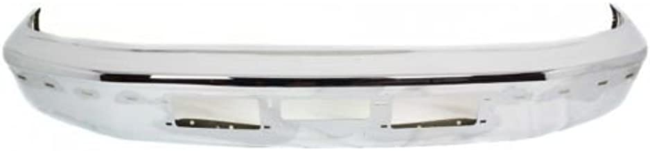 Perfect Fit Group 7753 - F-Series Front Bumper Chrome, W/ Air Intake Holes And Mldg Hole