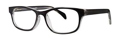 Eyeglasses Gallery Devin Black Crystal