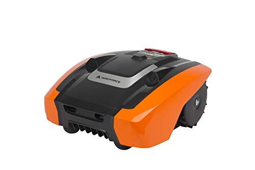 Yard Force Amiro400Robot Cortacésped con tecnología sensorial ultrasónica, Naranja/Negro