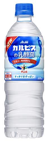 アサヒ飲料 カルピス おいしい水 プラス カルピスの乳酸菌 600ml×24本