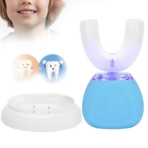 Cepillo de dientes automático ultrasónico, cepillo de dientes eléctrico ultrasónico en forma...
