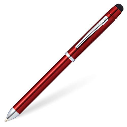 クロス 多機能 ボールペン テックスリープラス AT0090-13 トランスルーセントレッドラッカー 正規輸入品
