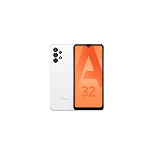 Samsung Galaxy A32 5G - Smartphone libre Android (128 GB, incluye auriculares), color blanco