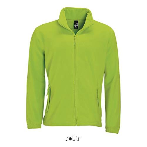 SOL´S Fleecejacket North, Farbe:Lime, Größe:L