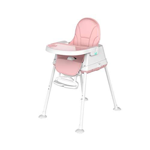 kiss ibaby Hochstuhl Verstellbarer Baby High Low Stuhl Zweischichtiges Serviertablett