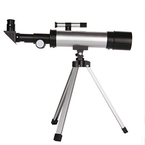 Prismáticos Telescopio astronómico, Entrada de Estudiante Telescopio de observación Estelar de Doble Uso Cielo y Tierra de Alta...