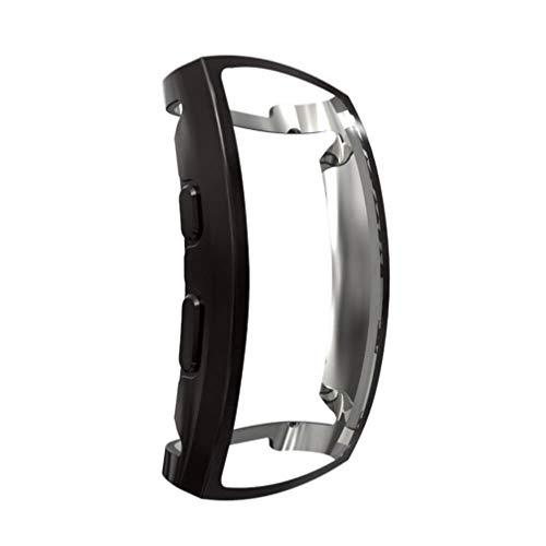 NICERIO Compatible para Samsung Gear Fit 2 Pro Funda Reloj Inteligente Cubierta Reloj Protector de Pantalla TPU Reloj Cubierta Protectora Reloj de Pulsera Shell