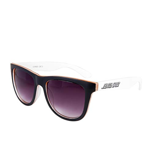 Santa Cruz Bench Sunglasses - Blanco y naranja