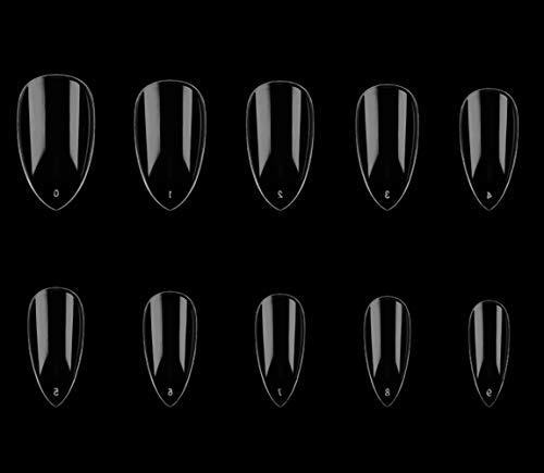 Uñas Postizas Transparentes marca joyme