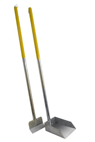 Flexrake Standard Poop Pet Scoop/Spade with 3-Feet Aluminum Handle