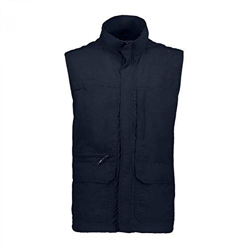 CMP Weste 3T72877 T-Shirt Homme, Noir/Bleu, 46