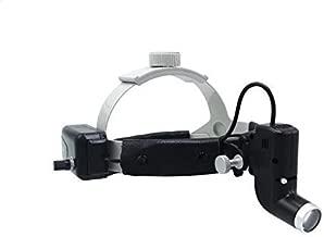 Oubo Dental DY-006 Surgical LED Headlight Good Light Spot Headband ENT 5W Specific (Black) US Stock