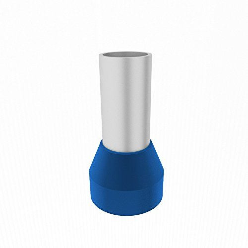 10Stk. Aderendhülsen 16mm2 HI 16/12mm Aderendhülse blau ERGOM 10Stk. 8904