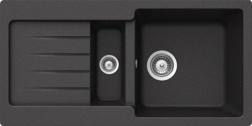 Schock TYPD150SUGON Typos D-150S Unterbauspüle, onyx