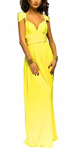 EMMA Donne Lunga Vestito da Cocktail da Sera Elegante Damigella D'onore