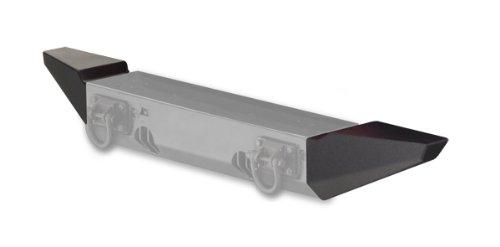 Rugged Ridge 11540.12 XHD Bumper Standard End Kit, Front; 07-18 Jeep Wrangler JK