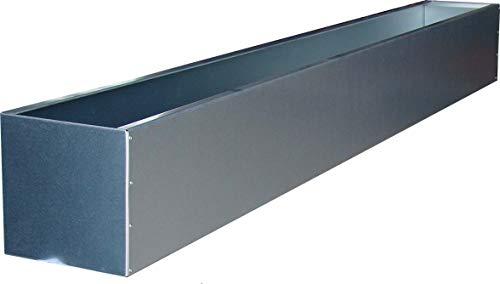 WMT BLUMENKASTEN VERZINKT - 15 x 15 cm (Länge 100 cm), viele Längen