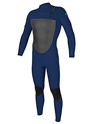 O'Neill Men's Epic 4/3mm Chest Zip Full Wetsuit M Navy (5354)