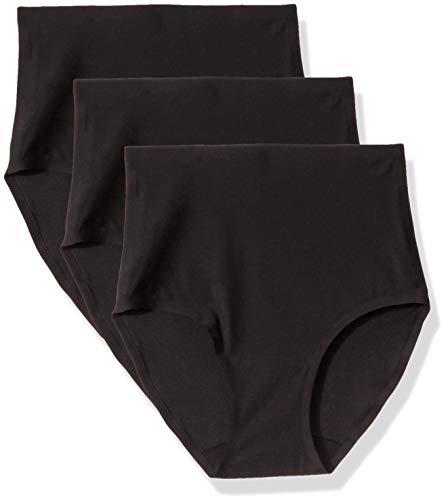 Chantelle Damen Taillenslip Soft Stretch, 3er pack, Schwarz (Schwarz 11), Einheitsgröße (Herstellergröße: OS)