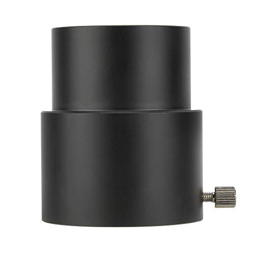 Teleskop Verlängerungsrohr, 2 Zoll Robustes Teleskop-Okular, 40 mm Verlängerungsrohr, M48-Gewindeadapter, 5 cm für 2-Zoll-Teleskop-Fokussiergerät, schwarz