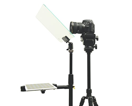 Glide Gear STG 100 Hybrid Speech/Presentation/Presidential Tablet Stage Prompter and Teleprompter