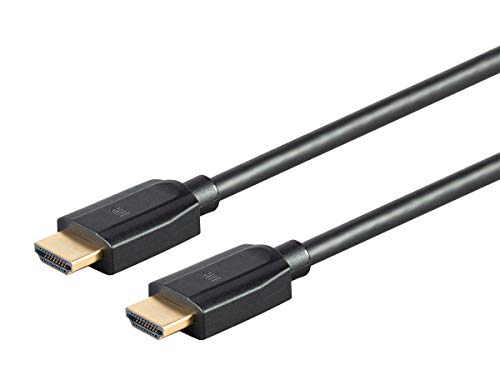 Monoprice DynamicView Ultra 8K Premium Cable HDMI de Alta Velocidad 48Gbps 8K Dynamic HDR eARC 8ft Negro