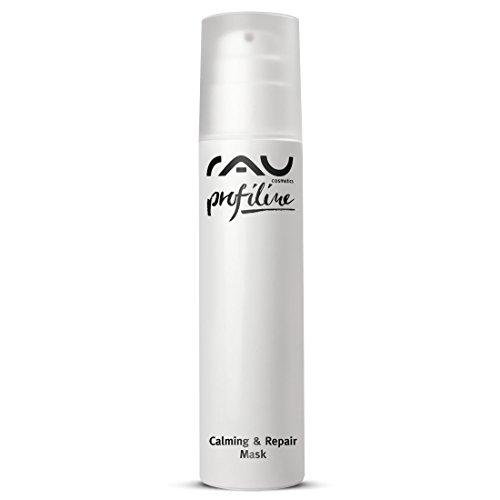 RAU Calming & Repair Mask 150 ml PROFILINE - Masque visage SOS hydratation pour les peaux sensibles ou très sèches. Soin visage apaisant hydratant à base de beurre de karité, de panthénol et d'urea. Apaise et regénère votre peau!