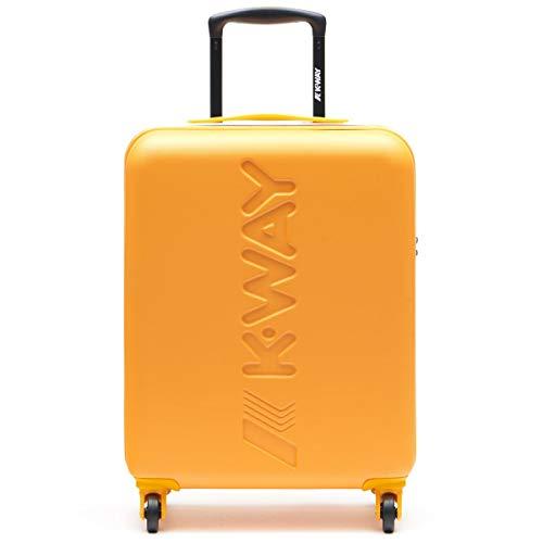 K-Way K11JMW Trolley Cabina 20cm Unisex Giallo PZ